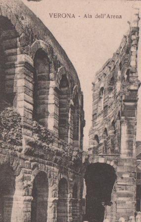 Postkarte: Italien - Verona - Ala dell Arena - ca. 1935