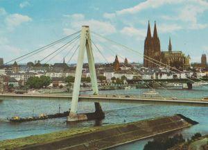 Postkarte: KÃln - SeverinsbrÃcke - ca. 1980