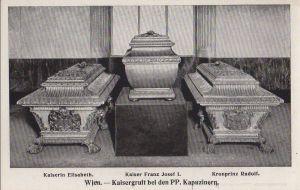 Postkarte: Ãsterreich - Wien - Kapuziner, Kaisergruft - ca. 1950