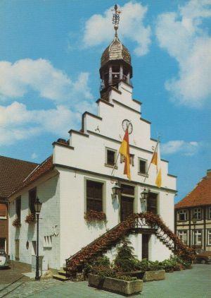 Postkarte: Lingen - Historisches Rathaus - 1976