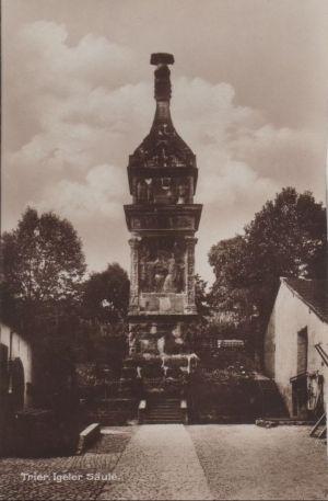 Postkarte: Trier - Igeler SÃule - ca. 1940