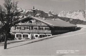 Postkarte: Ãsterreich - Kirchberg - Alpengasthof Schroll - 1968