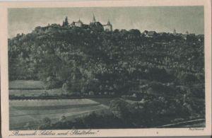 Postkarte: Brauneck - Schloss und StÃdtchen - ca. 1950