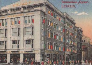 Postkarte: Leipzig - [REPRO] Tabakmesshaus Kosmos - 1992