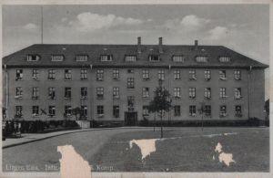 Postkarte: Lingen - Kaserne ? - 1941