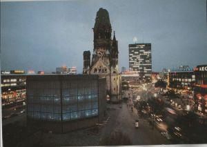 Postkarte: Berlin-Charlottenburg, GedÃchtniskirche - 1996