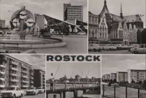Postkarte: Rostock - u.a. SÃdstadt am Kosmos - 1978