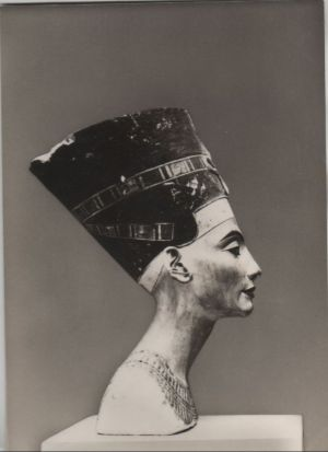 Postkarte: Staatliche Museen, Berlin - Ãgyptisches Museum, Nofrete - 1969