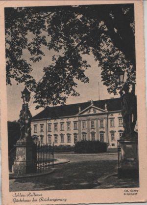 Postkarte: Berlin-Tiergarten, Schloss Bellevue - GÃstehaus der Reichsregierung - ca. 1940