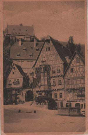 Postkarte: Miltenberg - Der Marktplatz - 1940
