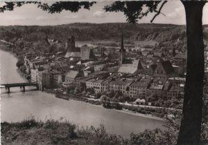 Postkarte: Wasserburg am Inn - ca. 1960
