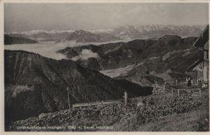 Postkarte: Hochgern - Unterkunfthaus - ca. 1955