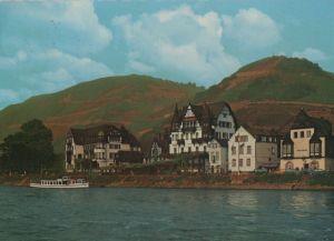 Postkarte: RÃdesheim-Assmannshausen - Gasthof Krone - 1968