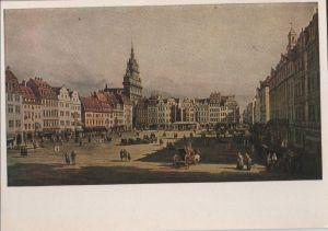 Postkarte: Dresden - Altmarkt - ca. 1955