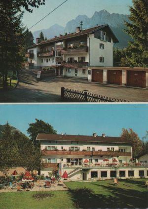 Postkarte: Grainau - Hotel Alpenhof - 1972