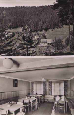 Postkarte: Seewald-Besenfeld - Schorrental - ca. 1960