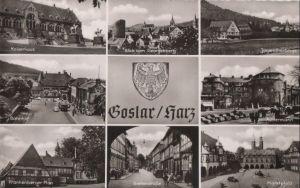 Postkarte: Goslar - u.a. Frankenberger Plan - ca. 1960