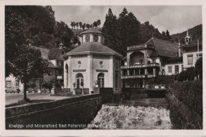 Postkarte: Bad Peterstal-Griesbach - ca. 1960