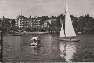 Postkarte: Schweiz - Lausanne-Ouchy - 1959