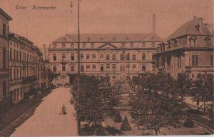 Postkarte: Trier - Kornmarkt - ca. 1925