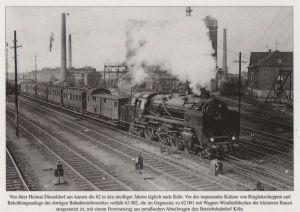 Postkarte: 62 002 vor Ringlokschuppen KÃln - ca. 1980