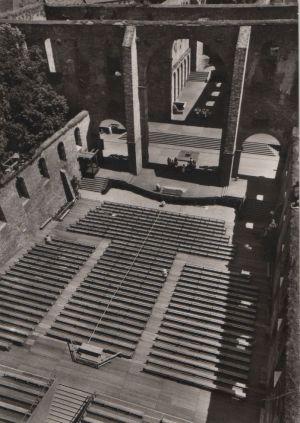 Postkarte: Bad Hersfeld - Festspiele, BÃhne und Zuschauerraum - 1960