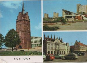 Postkarte: Rostock - u.a. SÃdstadt-GaststÃtte Kosmos - ca. 1975