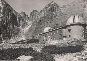 Postkarte: Tschechien - Vysoke Tatry - Hohe Tatra - Astronomicky ustav SAV v Skalnatej doline - ca. 1965