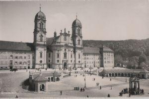 Postkarte: Schweiz - Einsiedeln - Kloster - ca. 1960