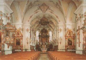 Postkarte: Schongau - Stadtpfarrkirche Maria Himmelfahrt - 1984