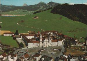 Postkarte: Schweiz - Einsiedeln - Kloster und Sihlsee - 1988