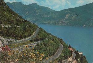 Postkarte: Italien - Riva del Garda - Strada del Ponale - 1986