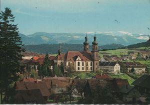 Postkarte: St. Peter - mit Seminar- und Pfarrkirche - ca. 1975