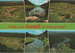 Postkarte: Seewald - ca. 1980