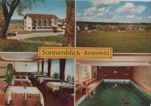 Postkarte: Seewald-Besenfeld - Pension Sonnenblick - ca. 1980