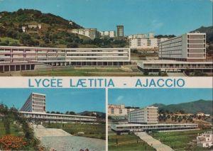 Postkarte: Frankreich - Ajaccio - Lycee Laetitia - ca. 1980
