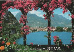 Postkarte: Italien - Riva del Garda - Panorama - ca. 1990